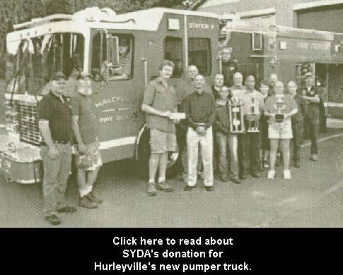 Hurleyville Fire Department, SYDA